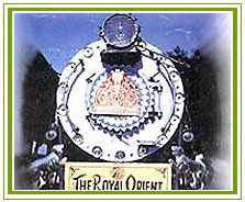 Royal Orient, Luxury Train in India